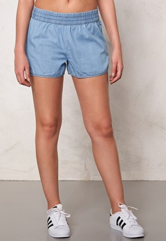 Jacqueline de Yong Move Denim Shorts Light Blue Denim Bubbleroom.fi