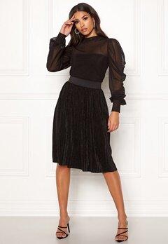 Jacqueline de Yong Nethe Skirt Black Bubbleroom.se