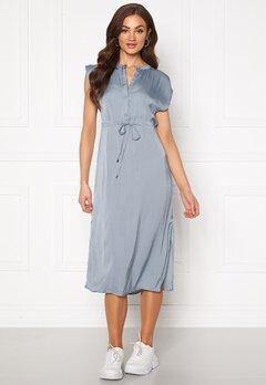 Jacqueline de Yong Sheela S/S Long Dress Faded Denim Bubbleroom.se