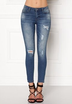 Jacqueline de Yong Skinny Low Magic Jeans Light Blue Denim Bubbleroom.se