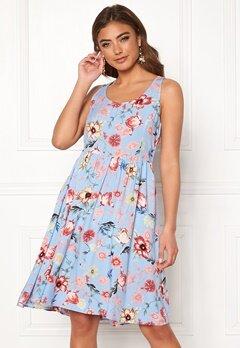 20ed4b6629e Jacqueline de Yong Star S/L Flowy Dress Cashmere Blue Bubbleroom.se