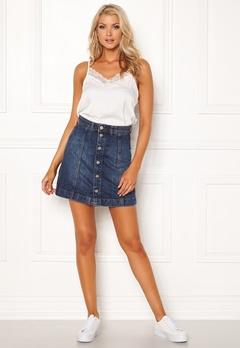 Jacqueline de Yong Sara Jeans Skirt Medium Blue Denim Bubbleroom.se