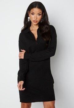 JDY Rue Vega L/S Dress Black bubbleroom.se