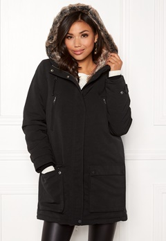 JOFAMA Hedda Jacket Black Bubbleroom.se