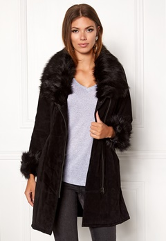 JOFAMA Inez Jacket 00 Black Bubbleroom.se
