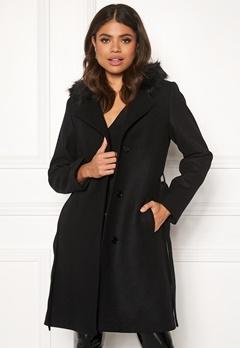 JOFAMA Sophia Coat 00 Black Bubbleroom.se
