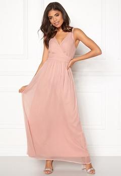 VERO MODA Josephine SL Maxi Dress Misty Rose Bubbleroom.se