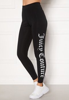 Juicy Couture Charlotte Legging Black Bubbleroom.se