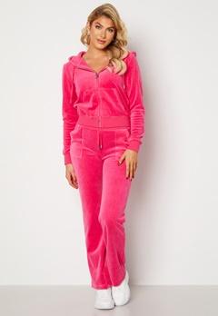 Juicy Couture Cotton Rich Del Ray Pant Raspberry Rose Bubbleroom.se