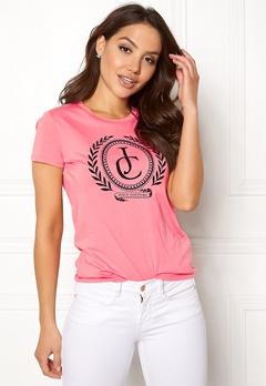 Juicy Couture JC Laurel Tee Sorbet Pink Bubbleroom.se