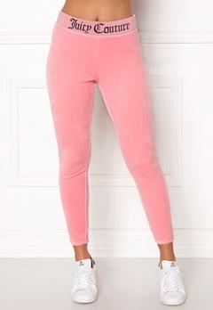Juicy Couture Juicy Jacquard Legging Sorbet Pink Bubbleroom.se