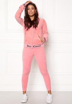 Juicy Couture Juicy Jacquard Rib Jacket Sorbet Pink Bubbleroom.se