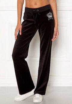 Juicy Couture Luxe Juicy Crown Pant Pitch Black Bubbleroom.se