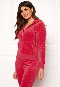 Juicy Couture Luxe Velour Robertson Jkt Cherry Top Bubbleroom.se