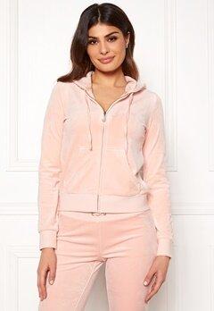 Juicy Couture Luxe Velour Robertson Jkt Pink Shadow Bubbleroom.se