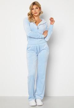 Juicy Couture Numeral Del Ray Pants Powder Blue Bubbleroom.se