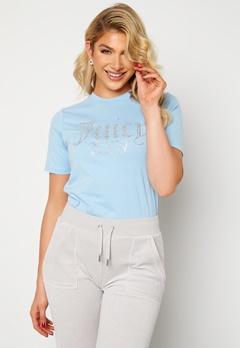 Juicy Couture Numeral T-Shirt Powder Blue Bubbleroom.se