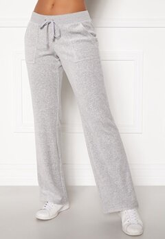 Juicy Couture Velour On Going Pant Silver Lining Bubbleroom.se