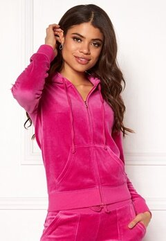 Juicy Couture Velour Robertson Jacket Raspberry Pink Bubbleroom.se