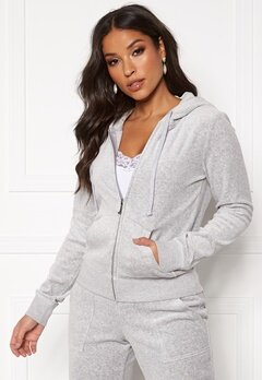 Juicy Couture Velour Track On Going Jkt Silver Lining Bubbleroom.se