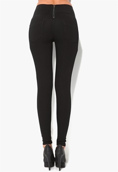 Pieces Just Jute Highwaist Legging Black Bubbleroom.se