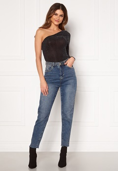 KENDALL + KYLIE K&K W Denim Rivets Light Blue Bubbleroom.se