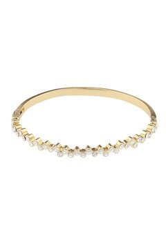 SNÖ of Sweden Kairo Small Oval Bracelet Gold/Clear Bubbleroom.se
