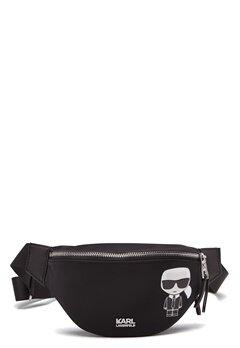 Karl Lagerfeld Iconic Nylon Bumbag 999 Black Bubbleroom.se