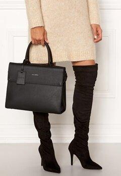 Karl Lagerfeld Ikon Top Handle Black/Nickel Bubbleroom.se