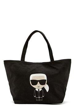 Karl Lagerfeld Ikonik Karl Canvas Tote A999 Black Bubbleroom.se