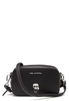 Karl Lagerfeld Metal Pin Camera Bag 999 Black Bubbleroom.se