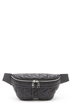 Karl Lagerfeld Quilted Stud Bumbag Black/Nickel Bubbleroom.se