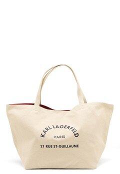Karl Lagerfeld Rue St Guillaume Canvas 106 Natural Bubbleroom.se