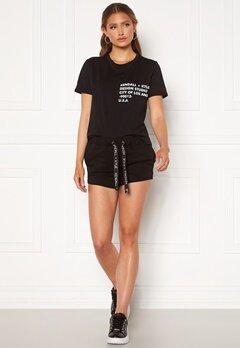 KENDALL + KYLIE K&K Active Turn Me On Shorts Black Bubbleroom.se