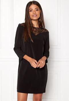Jacqueline de Yong Kira 7/8 Lace Dress Black Bubbleroom.se