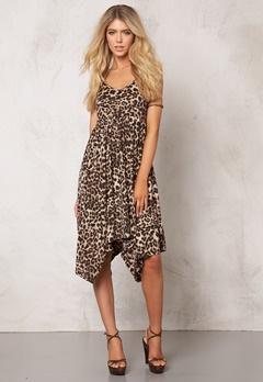 TrulyMine Inger Kjole Leopard Bubbleroom.no