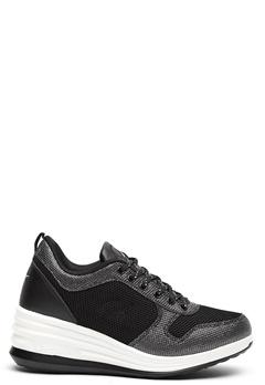 LA Gear Lima Sneakers Black/Silver Bubbleroom.fi