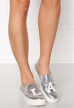 Steve Madden LA Slip-on Silver Glitter Bubbleroom.no