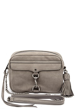 Rebecca Minkoff Large Mac Camera Bag Grey Bubbleroom.se