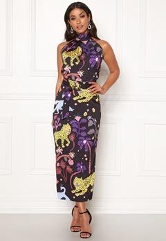 LARS WALLIN Halterneck Dress Multi AOP Bubbleroom.se