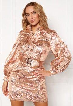 LARS WALLIN Workwear Dress Pink Metallic Bubbleroom.se