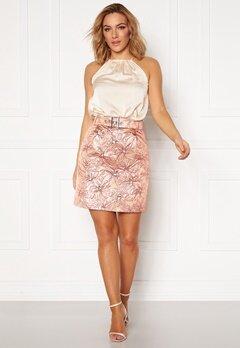 LARS WALLIN Workwear Skirt Pink Metallic Bubbleroom.se
