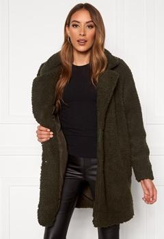 ONLY Laurelia Sherpa Coat Rosin Bubbleroom.se
