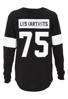 Les Artists TEE ML LES BLACK Bubbleroom.no
