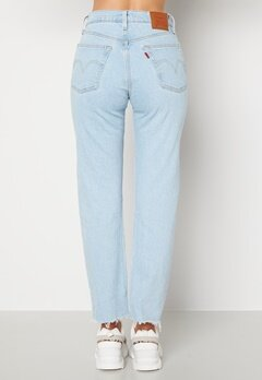LEVI'S 501 Crop Jeans 0180 Samba Goal Bubbleroom.se