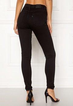 LEVI'S 720 Hirise Super Skinny Jeans 0000 Black Galaxy bubbleroom.se