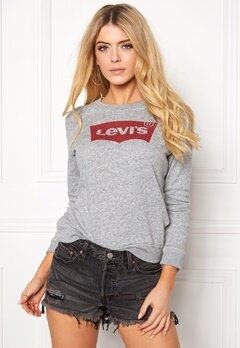 LEVI'S Classic Crew Sweatshirt 0050 Smokestack Bubbleroom.dk