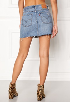 LEVI'S Deconstructed Skirt 0001 american wild Bubbleroom.fi