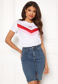 LEVI'S Florence Tee 0001 Florence Tee Wh Bubbleroom.se