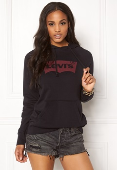 LEVI'S Graphic Sport Hoodie Black Bubbleroom.eu